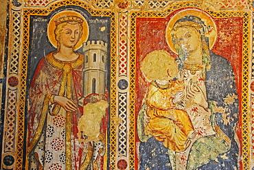 Frescoes, Matera, Basilicata region, South Italy, Italy, Europe