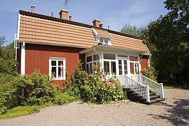 Astrid Lindgren's birthplace in Naes near Vimmerby, Sweden, Scandinavia, Europe