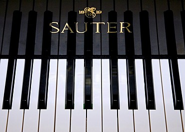 Munich, GER, 03. May 2006 - A keyboard of a SAUTER piano.