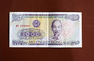 Banknote of Vietnam