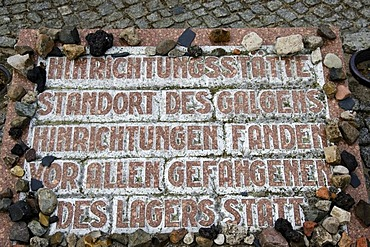 Concentration camp memorial, Sachsenhausen, Oranienburg, Brandenburg, Germany