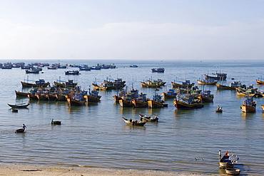 Harbour of Mui Ne, Vietnam, Asia