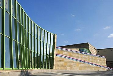New State Gallery, architekt James Stirling, Stuttgart Baden Wuerttemberg Germany