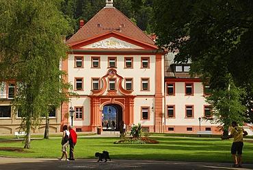 Kurpark St. Blasien Black Forest Baden Wuerttemberg Deutschland