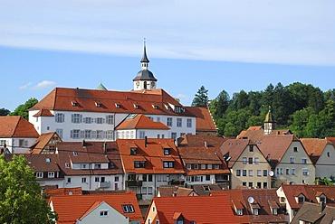 Hunting castle of the Wuerttemberg dukes Waldenbuch Schoenbuch Baden Wuerttemberg Germany