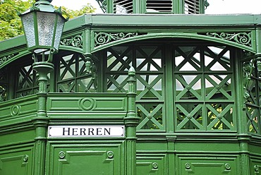 Historical toilet house at the Gendarmenmarkt Berlin germany