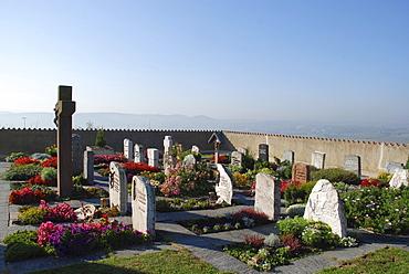 Cemetery Wurmlinger Kapelle Tuebingen Baden Wuerttemberg Germany