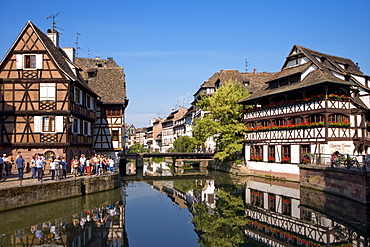 Petite France, Strasbourg, Alsace, France, Europe