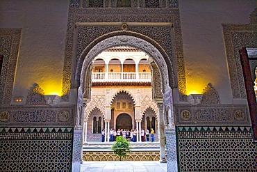 Alcazar, Seville, Andalusia, Spain, Europe