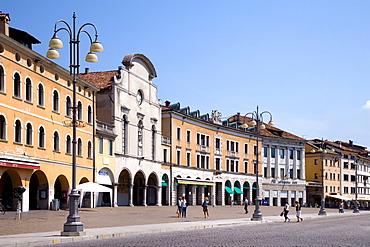 Piazza dei Martiri Square, Belluno, Veneto, Italy, Europe