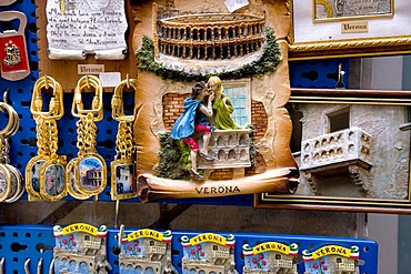 Romeo and Juliet souvenirs, Verona, Venice, Italy, Europe