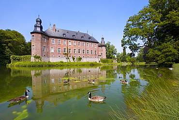 Dyck Palace, Juechen, North Rhine-Westphalia, Germany, Europe
