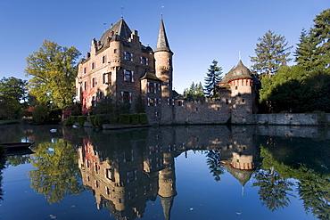 Satzvey Castle, Mechernich-Satzvey, Eifel, North Rhine-Westphalia, Germany, Europe