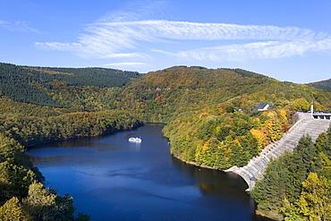 Obersee, Upper Lake, Eifel, North Rhine-Westphalia, Germany, Europe