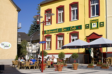 Restaurant Alte Schule, Old School, Eifel, North Rhine-Westphalia, Germany, Europe