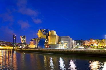 Guggenheim Museum, Bilbao, Basque Country, Spain, Europe