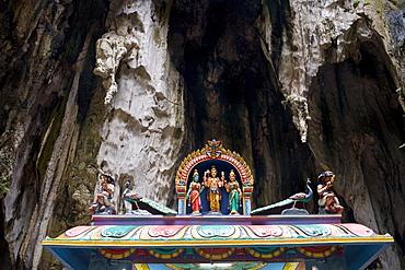 Batu Caves, limestone caves near Kuala Lumpur, Malaysia, Southeast Asia