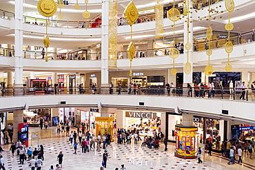 Suria KLCC, shopping centre in the Petronas Twin Towers, Kuala Lumpur, Malaysia, Southeast Asia