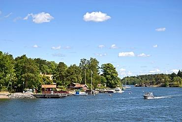 Skerry near Vaxholm, Stockholm archipelago, Sweden