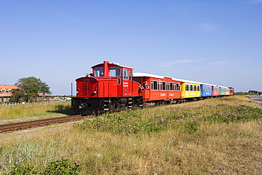 Island Railway, Langeoog, East Frisian Islands, Lower Saxony, Germany, Europe