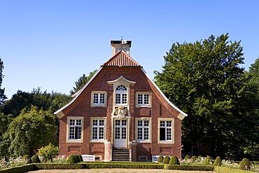 Haus Rueschhaus, former dwelling of Annette von Droste-Huelshoff, Muenster, North Rhine-Westphalia, Germany, Europe