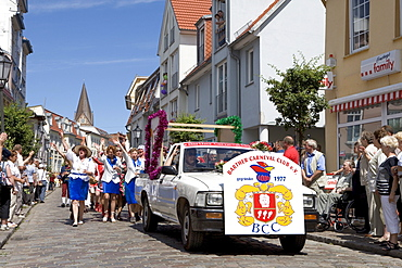 Parade, Barth, Mecklenburg-Western Pomerania, Germany, Europe