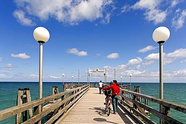 Pier at Heiligendamm, Baltic Sea, Mecklenburg-Western Pomerania, Germany, Europe
