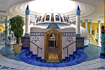 Moorish sauna inthe Saunawelt, sauna world in the Hansedom, Stralsund, Baltic Sea, Mecklenburg-Western Pomerania, Germany, Europe