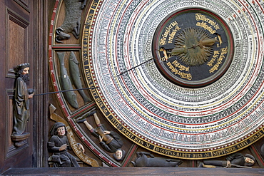 Astronomical Clock of 1472, St. Mary's Church, Rostock, Mecklenburg-Western Pomerania, Germany, Europe