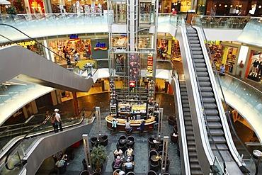 Shopping mall, Gasometer, Vienna, Austria, Europe