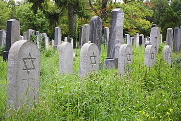 Jewish section of the Zentralfriedhof, Central Cemetery in Vienna, Austria, Europe