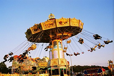 Chairoplane at the Octoberfest Muni Germany