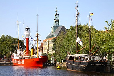 Townhall of Emden, Lower Saxony, Germany