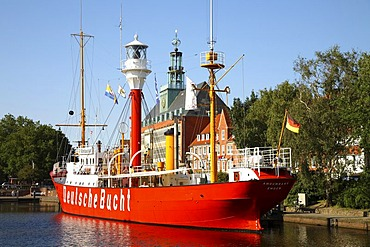 Fire ship, Townhall of Emden, Lower Saxony, Germany