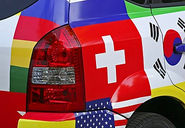 Close-up of a car seen during the 2006 FIFA soccer worldcup Germany