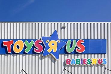 Logo of TOYS R US