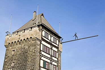 The Schelztor Gate, Esslingen, Baden-Wuerttemberg, Germany