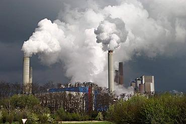Power plant Eschweiler, North Rhine-Westphalie, Germany