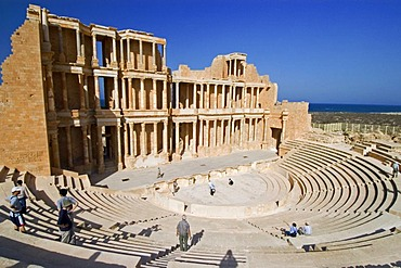 Roman theater of Sabrata