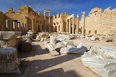 Severian basilica of Leptis Magna