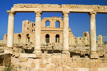 Roman theater of Sabrata, Libya