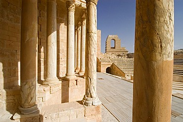 Roman theater of Sabrata, Libya