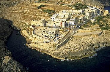 Ras il Bajjada at Blue Grotto, Malta