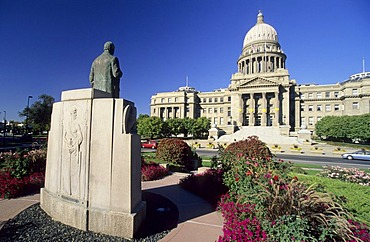 Capitol of Idaho in Boise, Idaho, USA