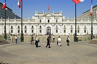 La Moneda, Presidents palace in Santiago de Chile, Chile
