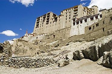 City palace in Leh, Ladakh, Jammu and Kashmir, India