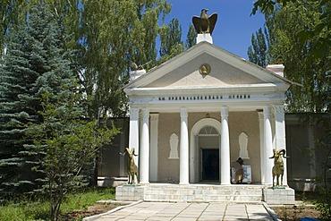 Museum of the famous asia explorer Nikolaj Michailovic Prshevalski, Karakol, Kyrgyzstan