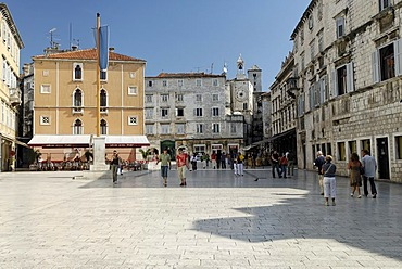 Historic old town of Split, Dalmatia, Croatia