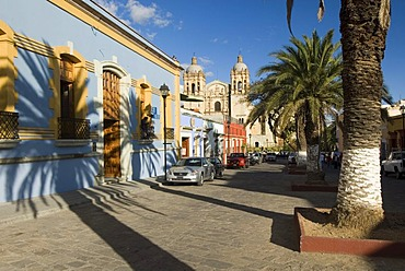 Santo Domingo church in the old town or historic center of Oaxaca, Mexico
