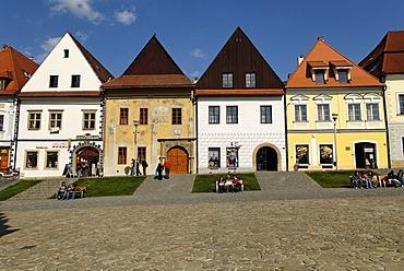 City square of Bardejov, Unesco World Heritage Site, Slovakia